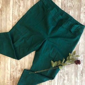 Style & Co green Jeans leggings XL